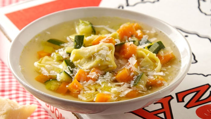 Vegetable Tortellini Soup | Philips Chef Recipes